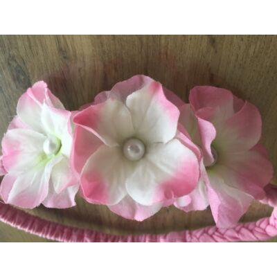 Fejdísz (három virágos)