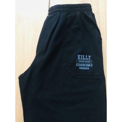 Killy fiú szabadidő nadrág (DENIM fekete)