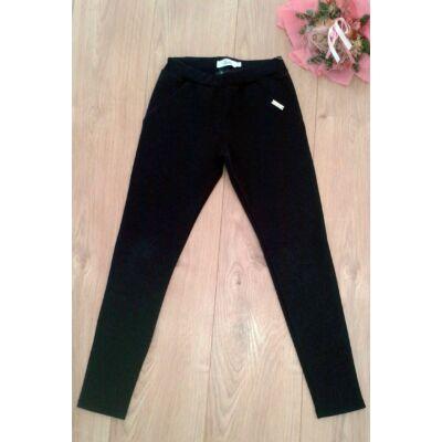 Alkalmi fekete nadrág (134-170)