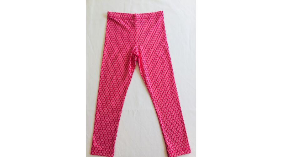 d33e90979c Lány nyári nadrág pink mintás (104-146) - Nadrág, leggings ...